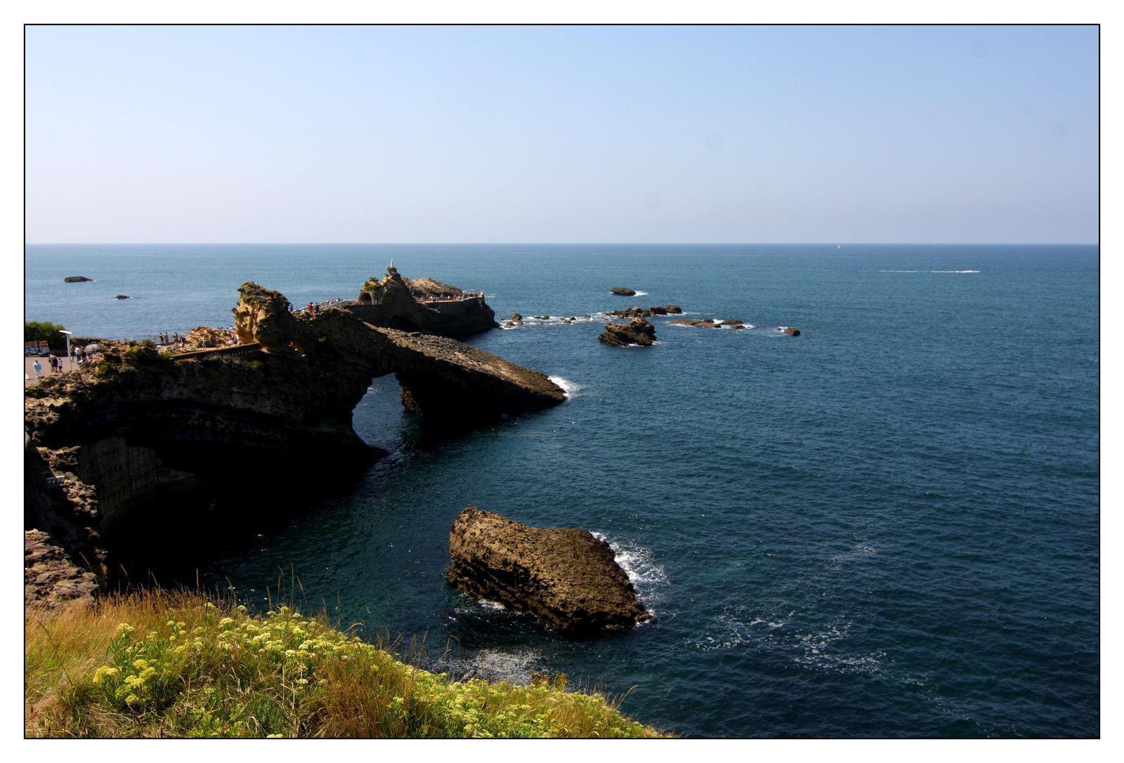 Rocher de la Vierge_Biarritz