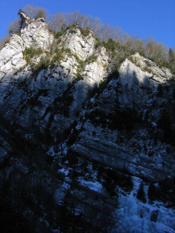Route du canyon des Ecouges_Rencurel