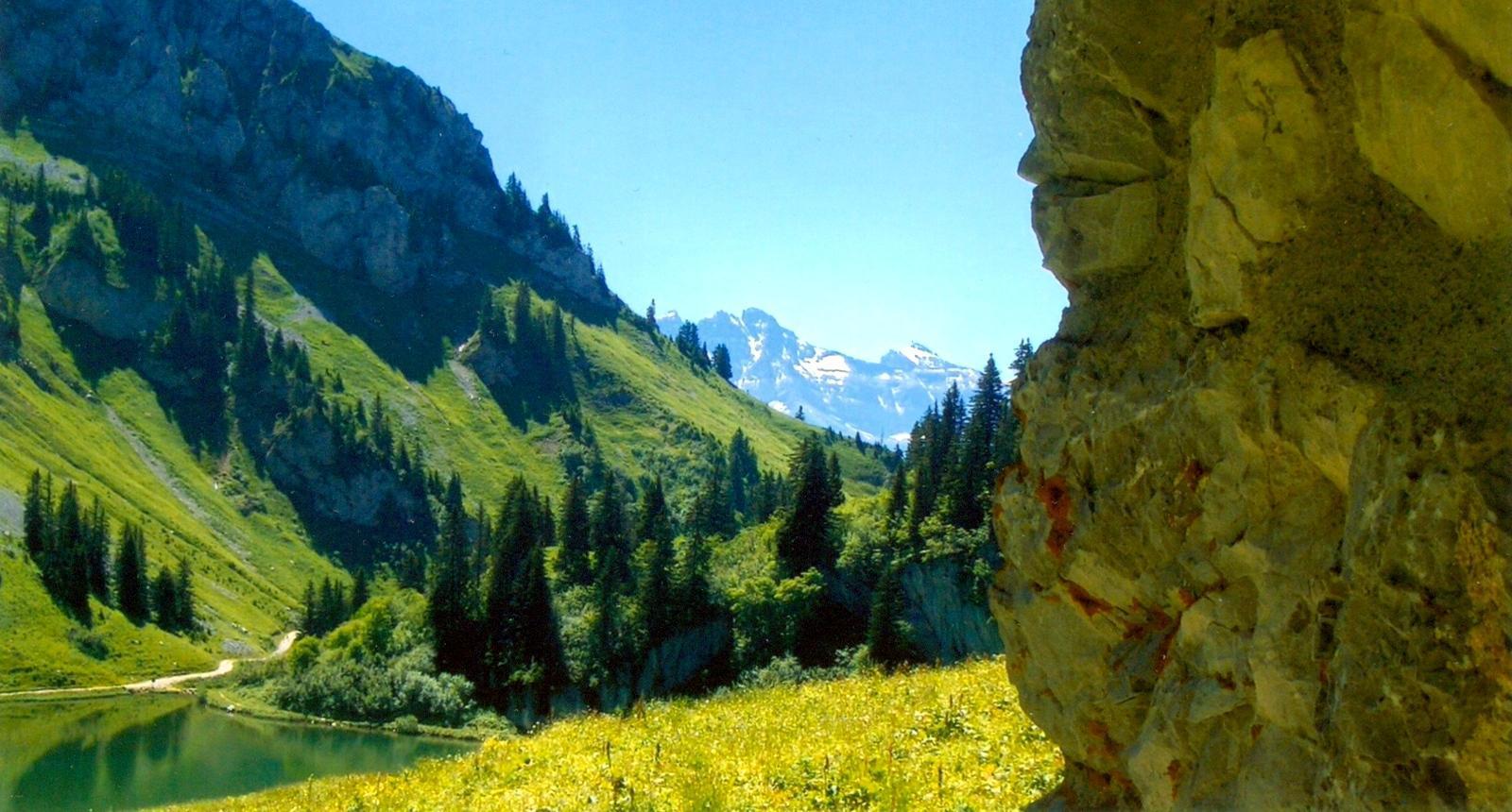 Balade au lac d'Arvouin