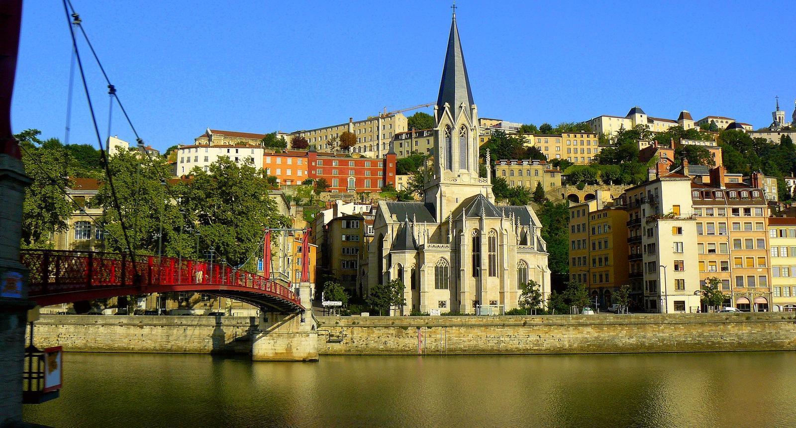 Lyon, le quartier Saint-Paul