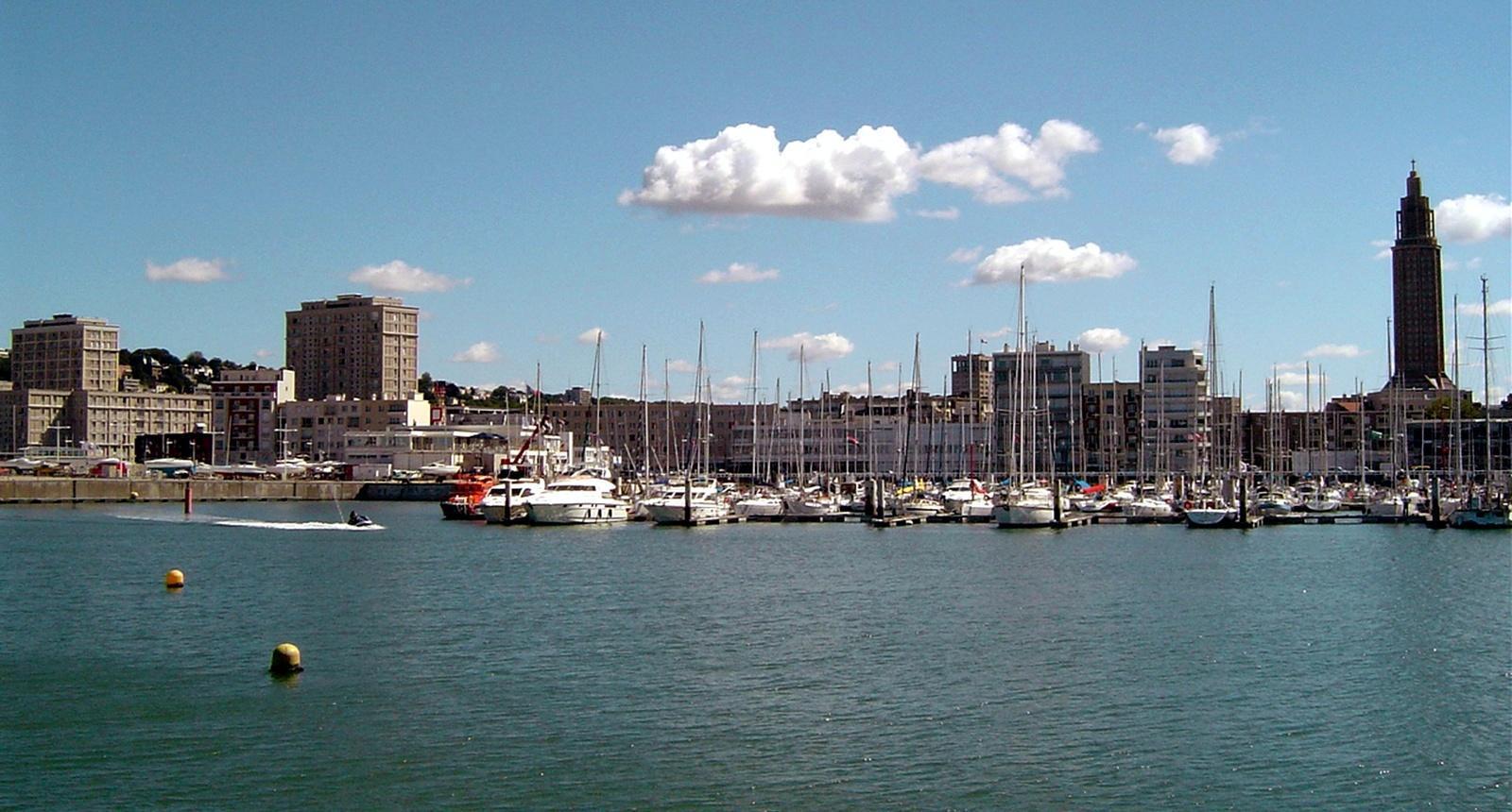 Le Havre, port de plaisance