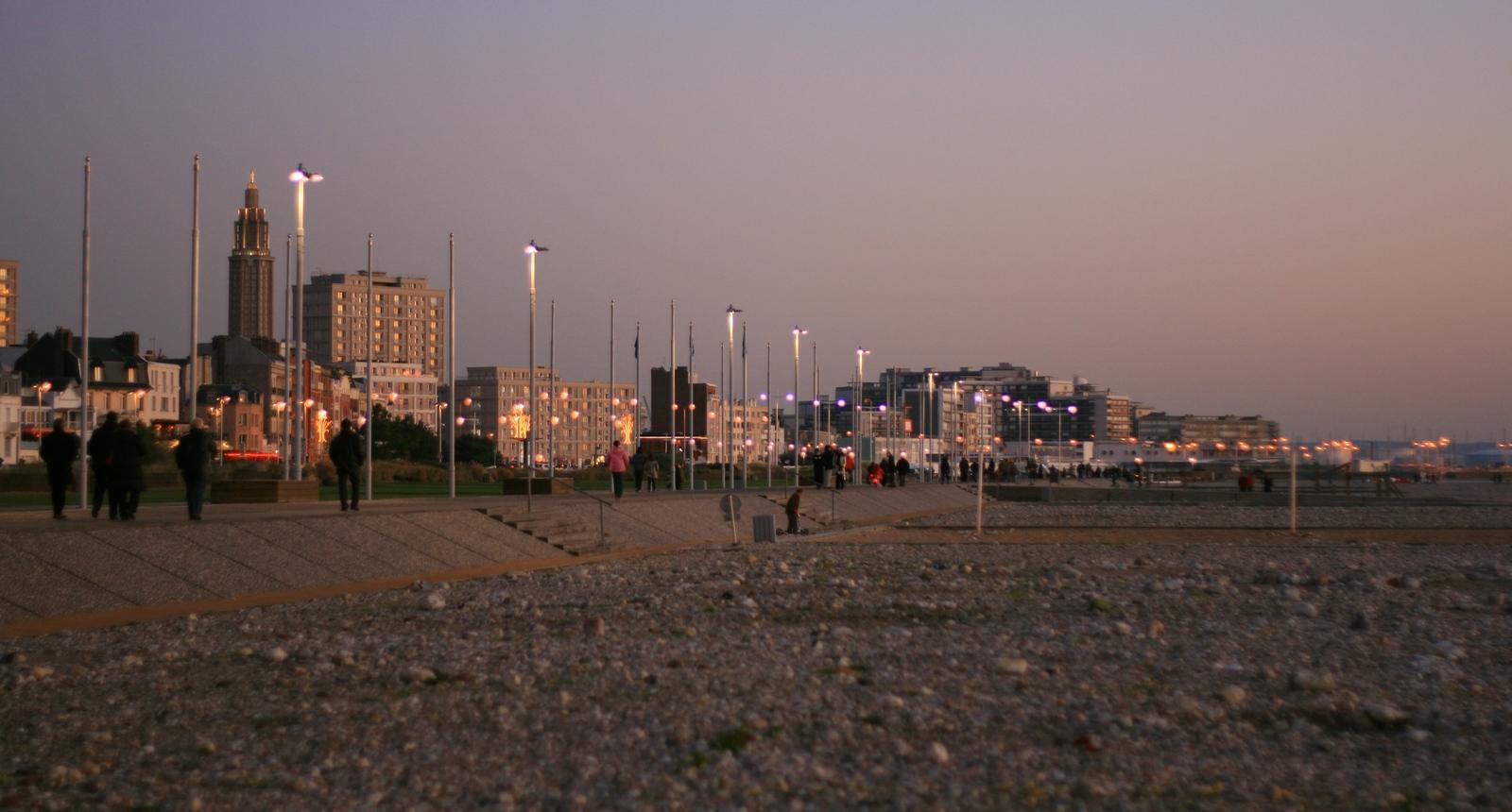 Le Havre, la plage