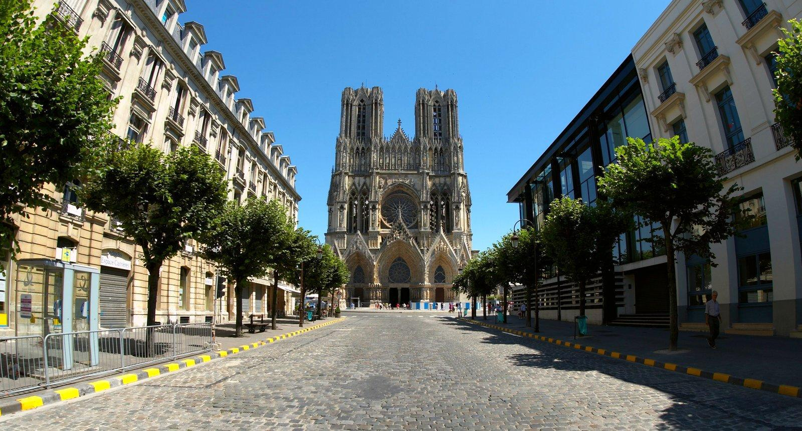 Visite de la ville de reims s jour week end tourisme for Piscine de reims