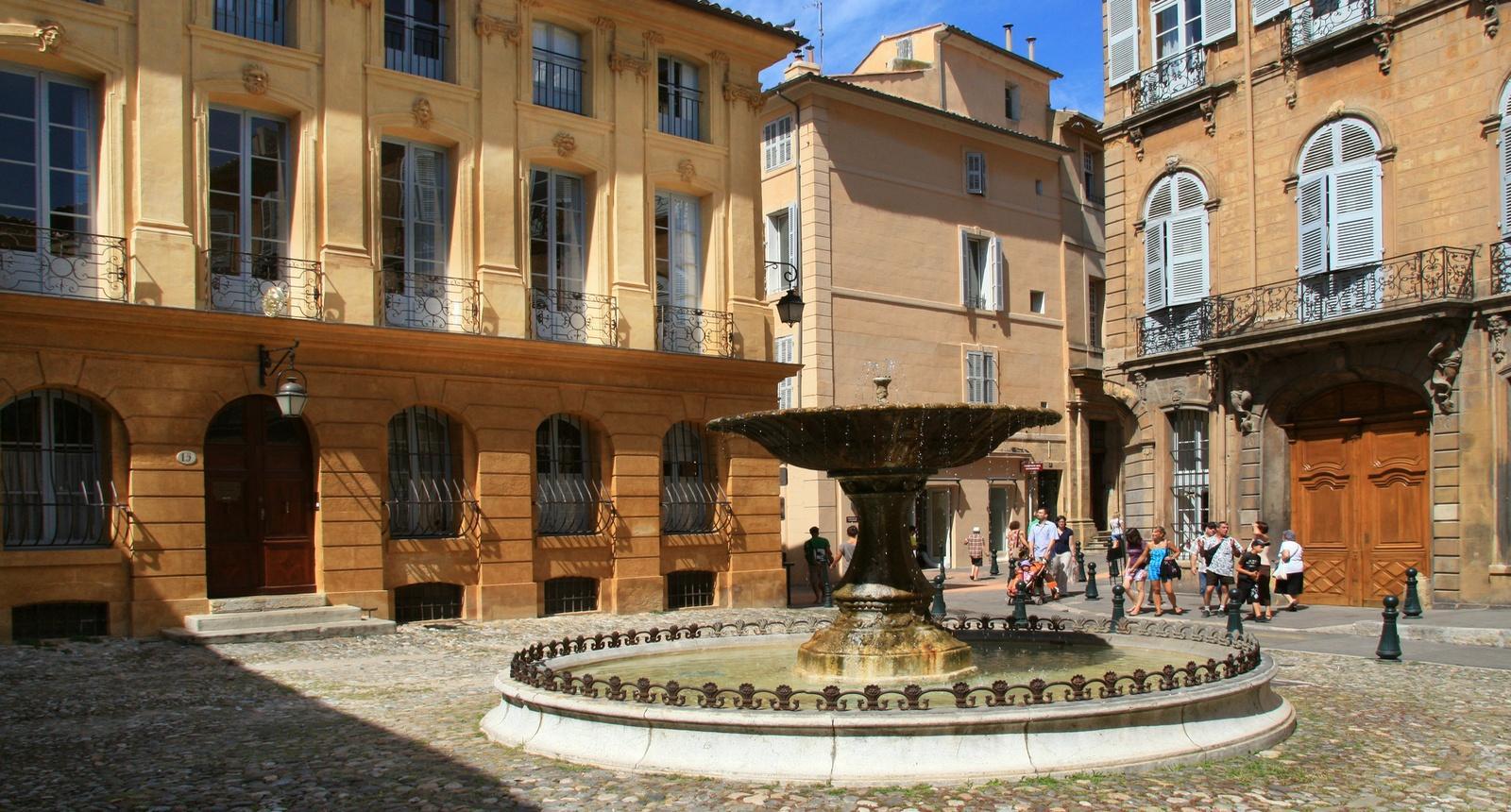 Aix-en-Provence, Place d'Albertas