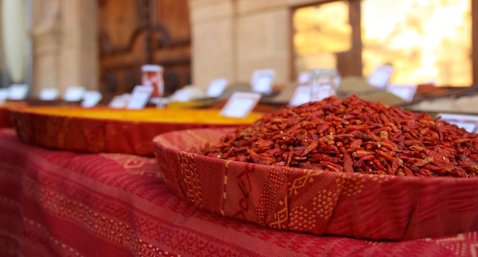 Sur le marché d'Aix-en-Provence