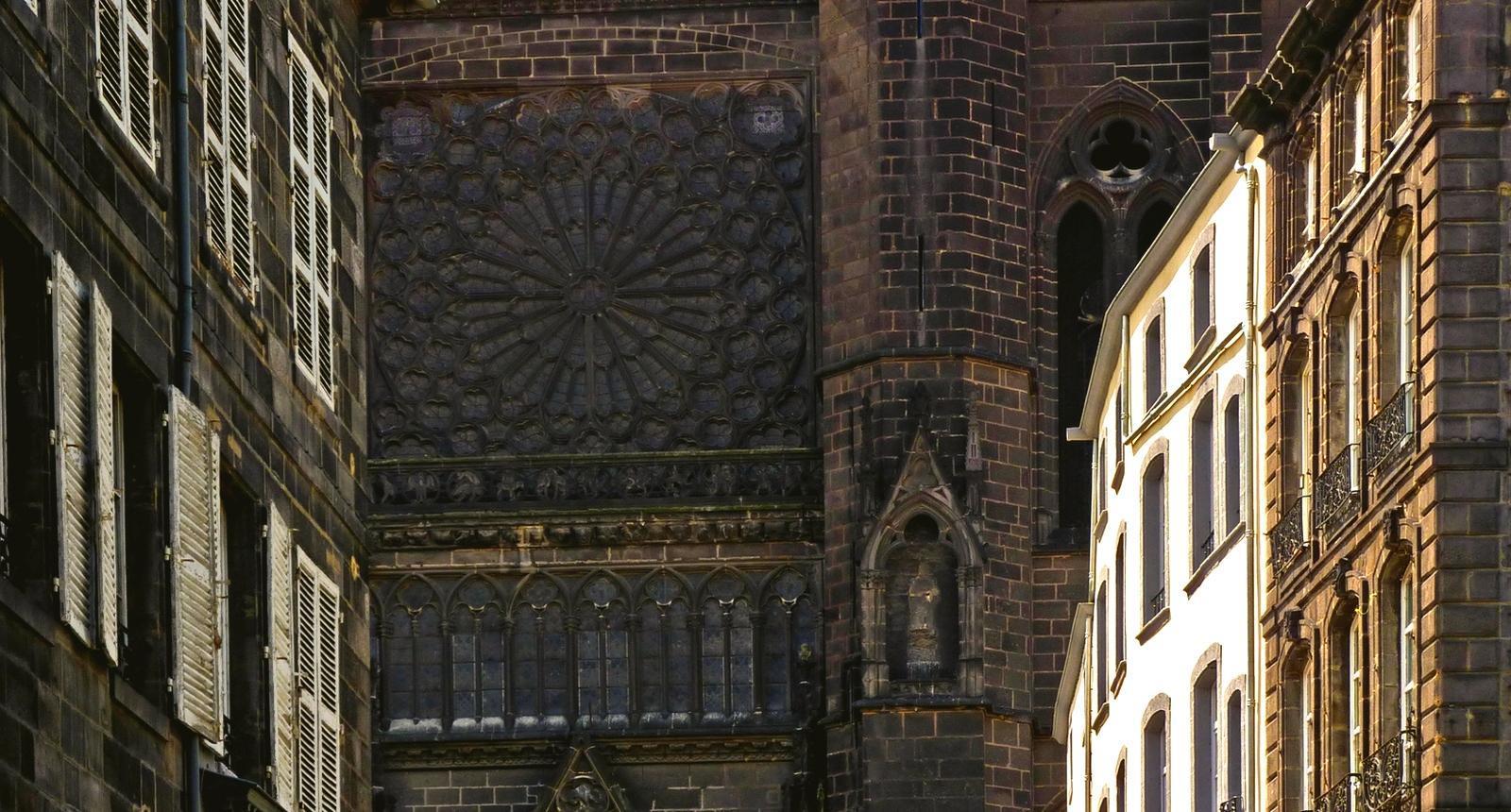Clermont-Ferrand, perspective sur la Cathédrale