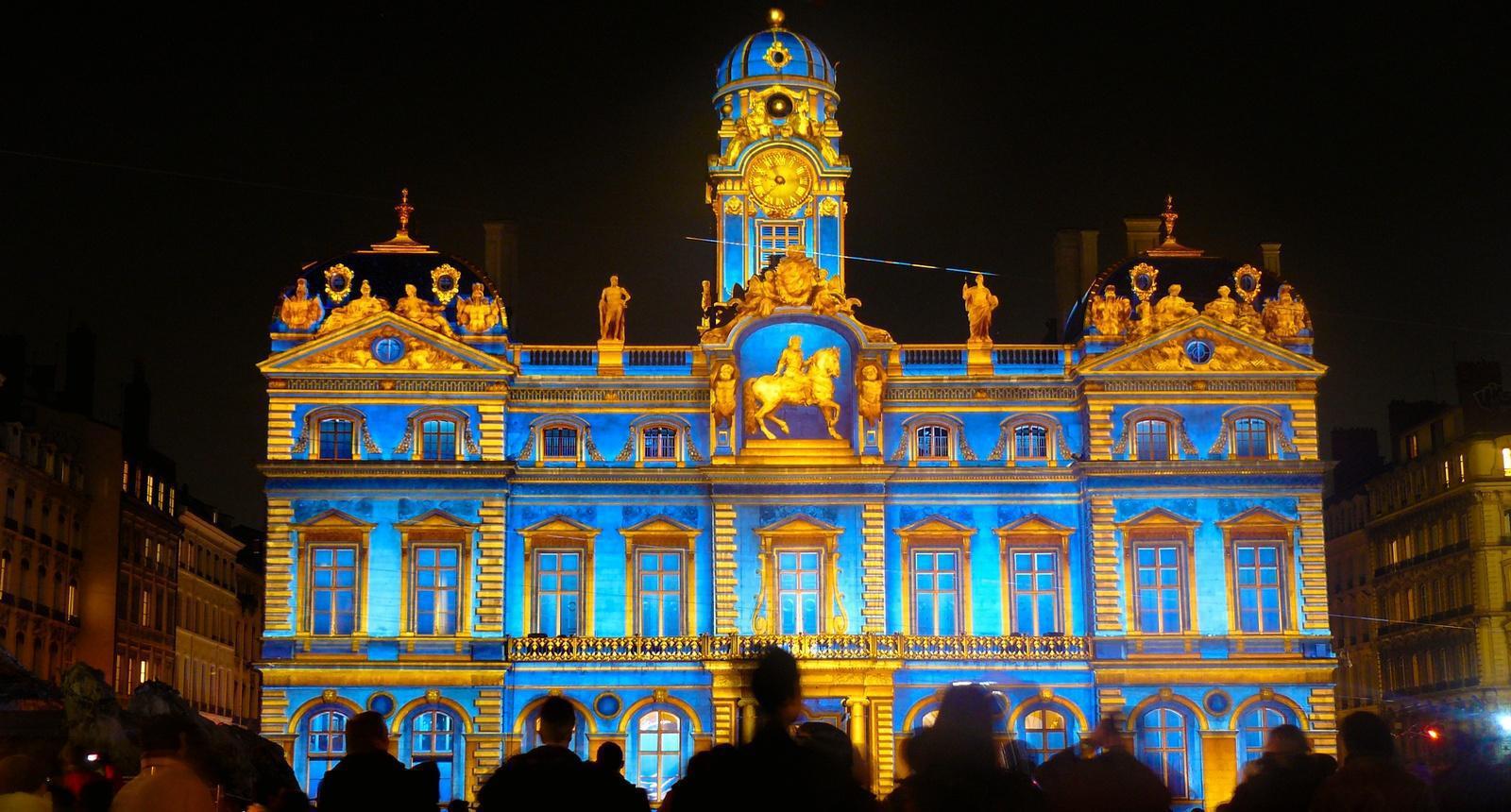 Lyon, la Fête des Lumières du 8 décembre