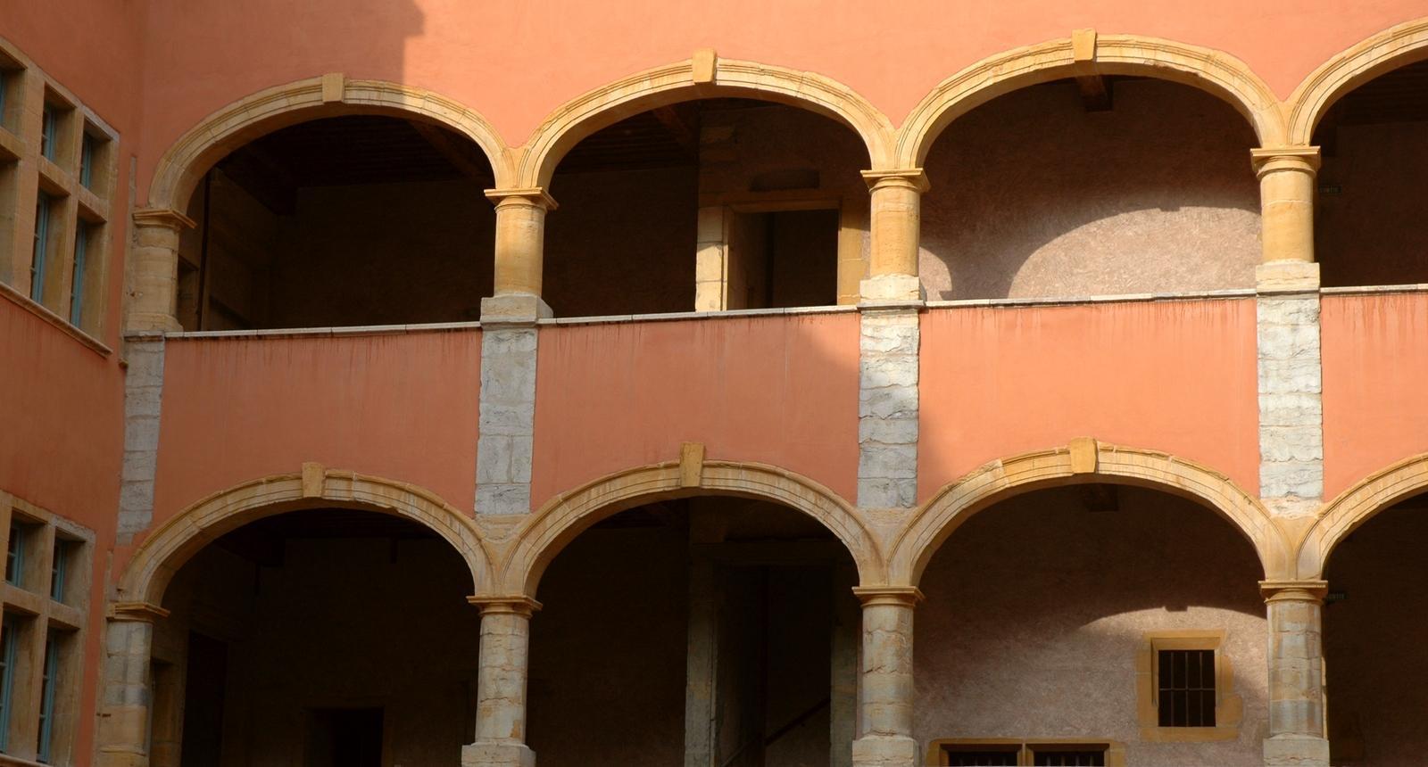 Italie ? Non, immeuble Renaissance du vieux Lyon