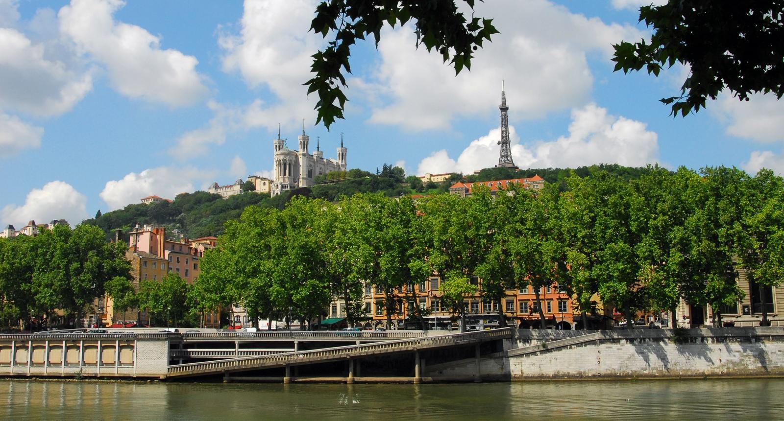 Lyon, colline de Fourvière