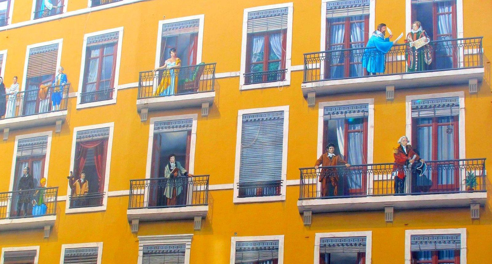 La Fresque des Lyonnais, Quai Saint-Vincent à Lyon