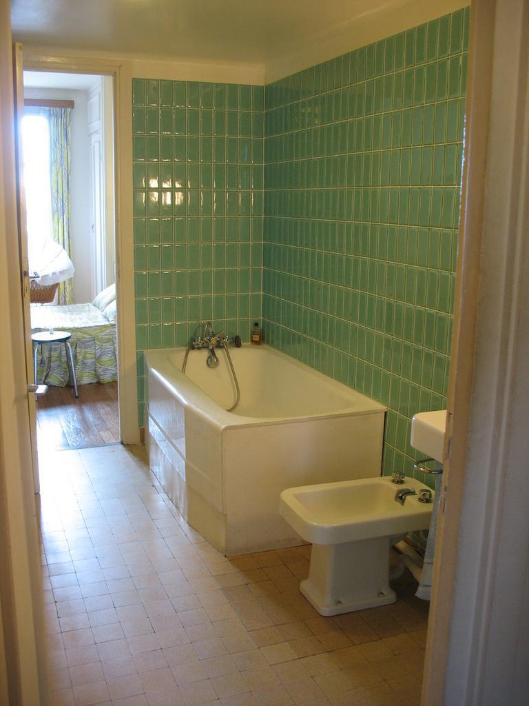 Appartement témoin la salle de bains