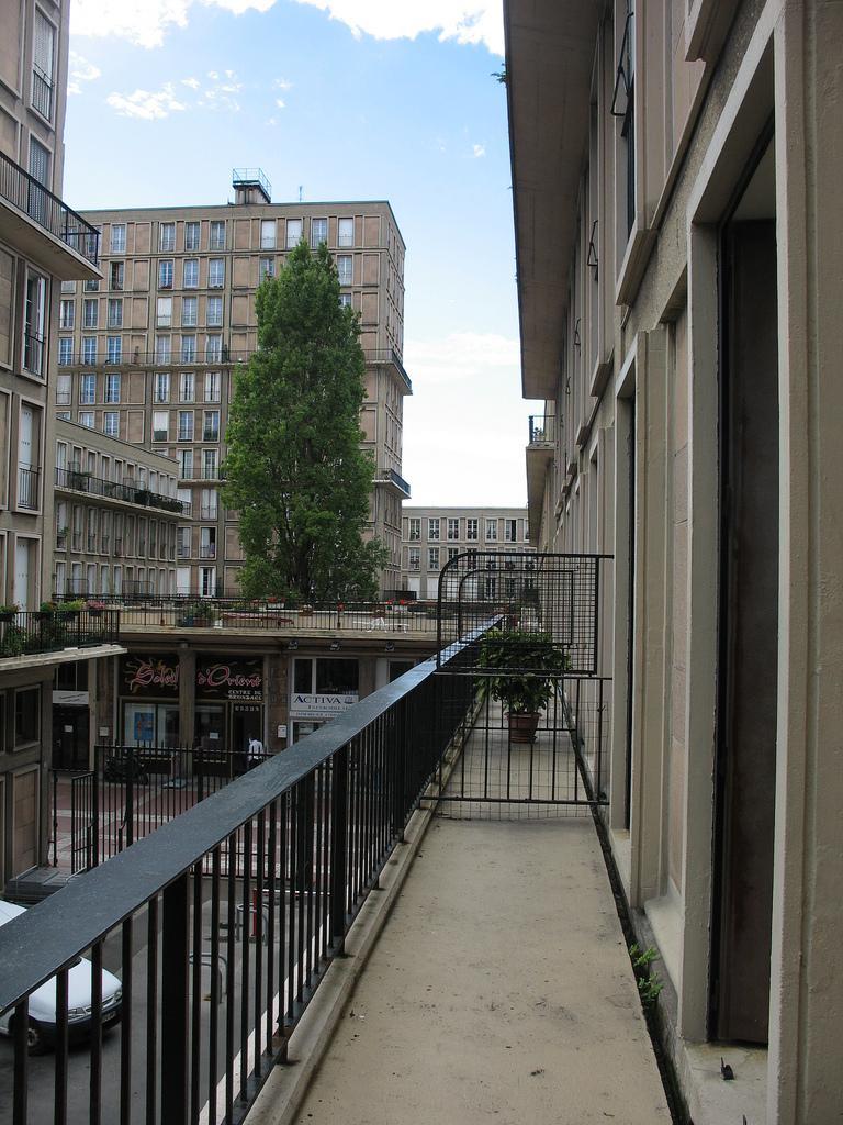 Appartement témoin le balcon