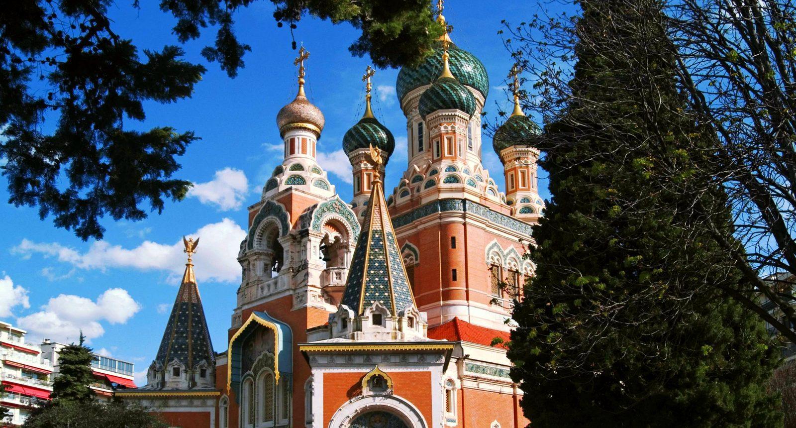 Nice, Cathédrale orthodoxe russe Saint-Nicolas