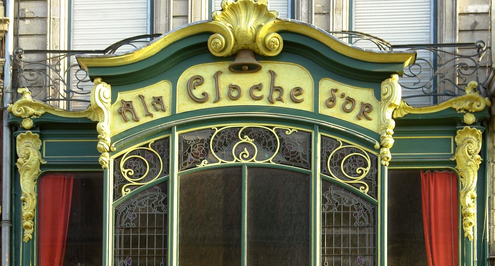 """""""A la Cloche d'Or"""", rue des Manneliers à Lille"""