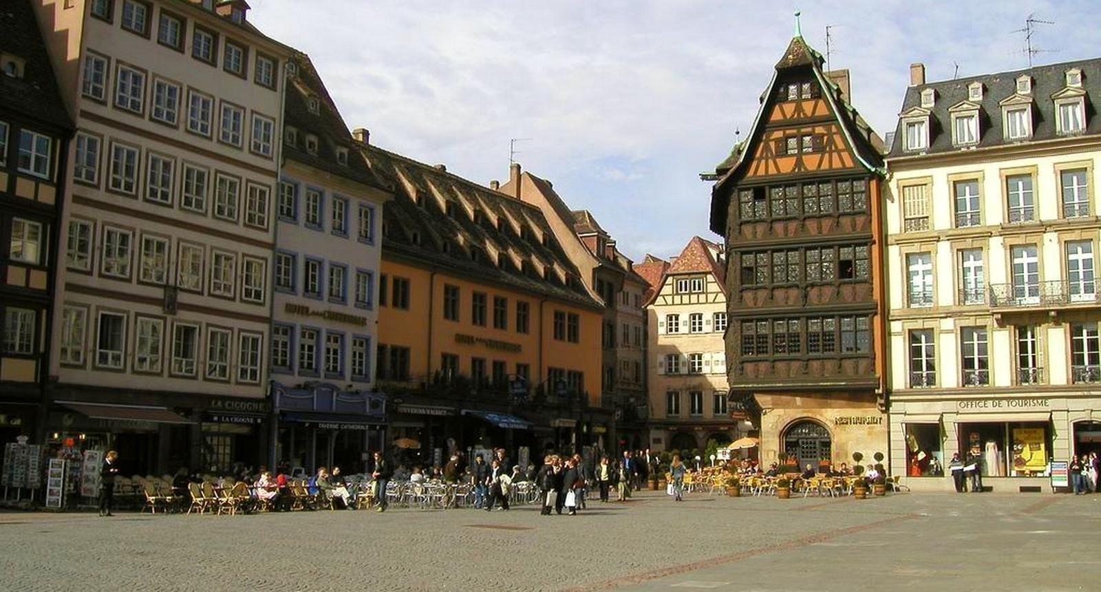 Strasbourg, Place de la Cathédrale