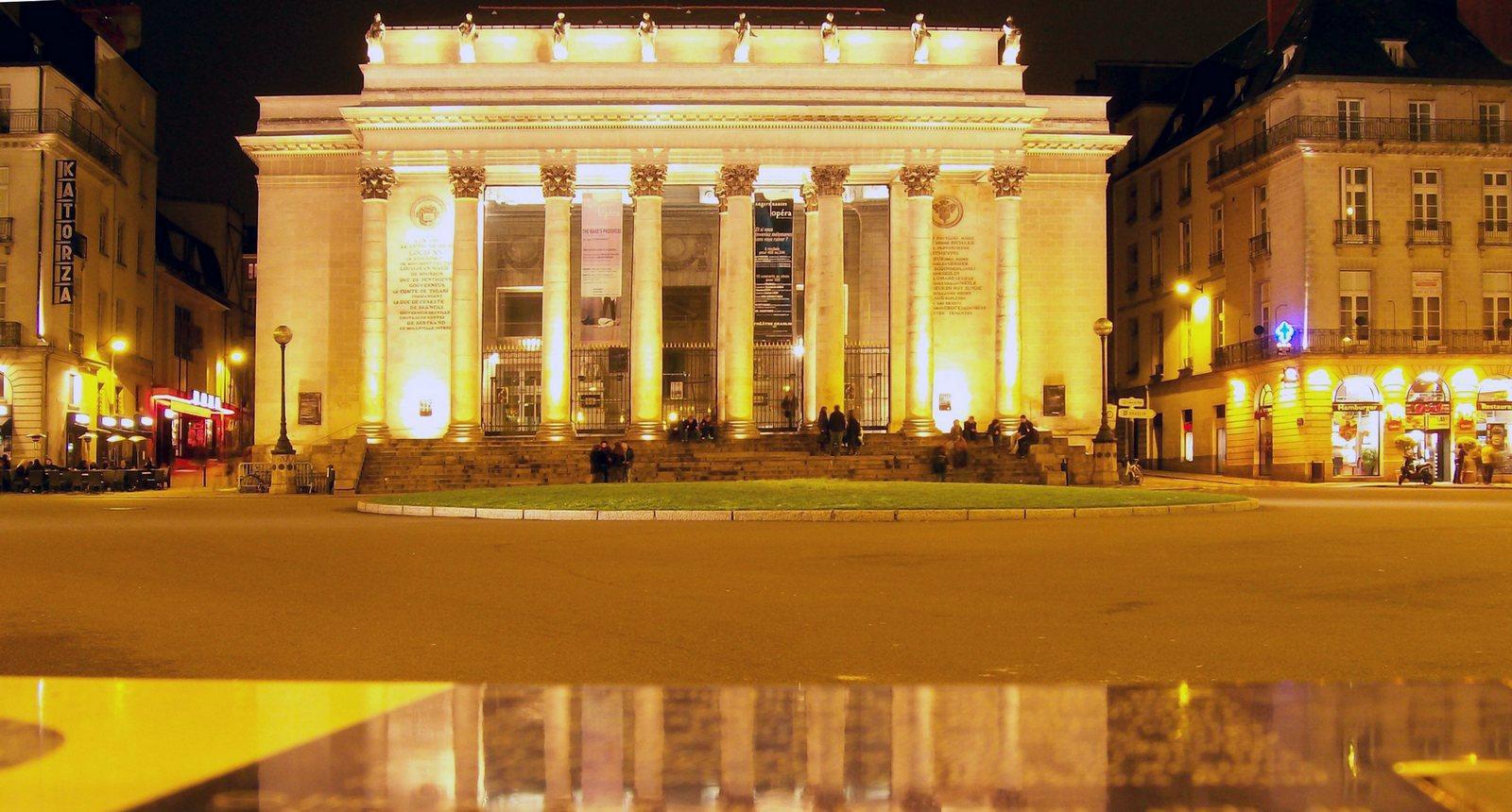 Nantes, le Théâtre Graslin