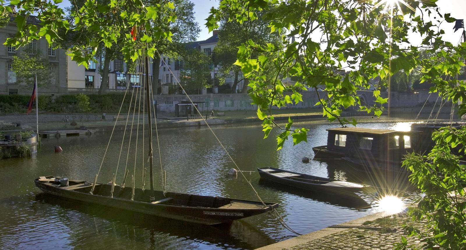 L'Erdre à Nantes