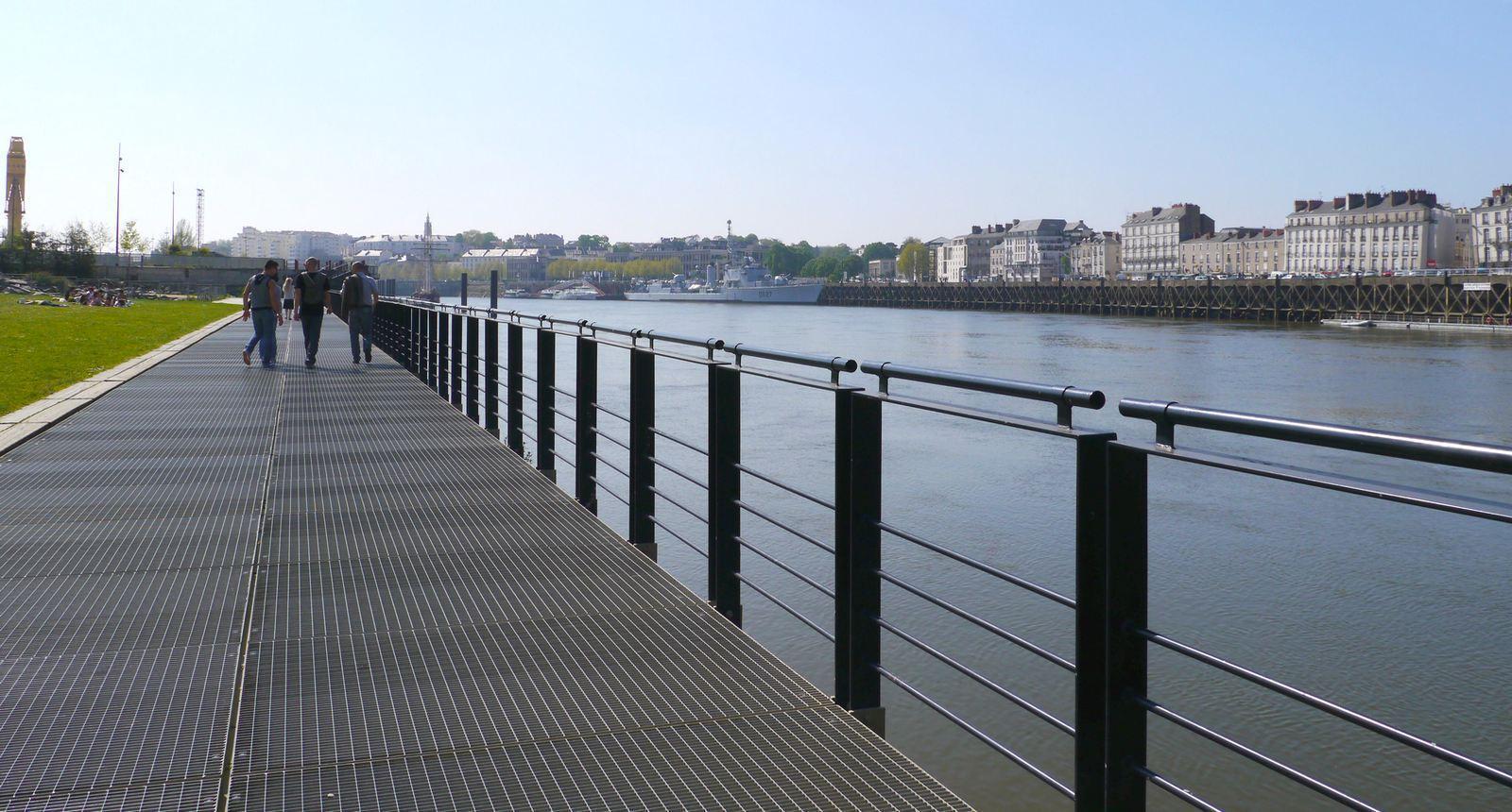 Le Parc des Chantiers, sur l'Île de Nantes