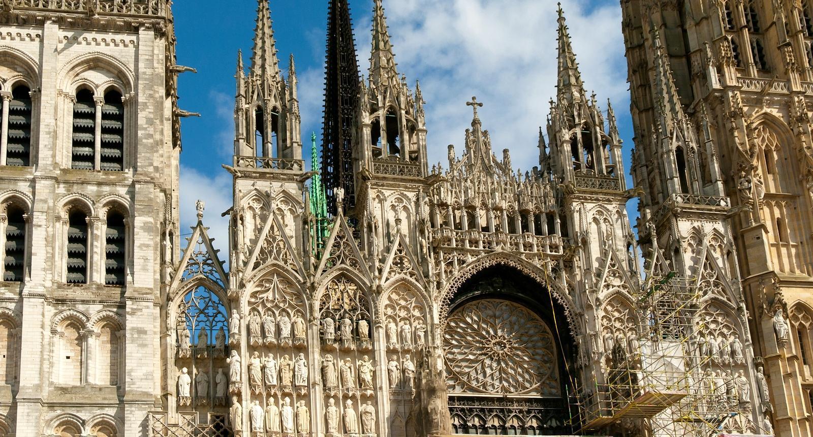 Façade de la Cathédrale Notre-Dame de Rouen