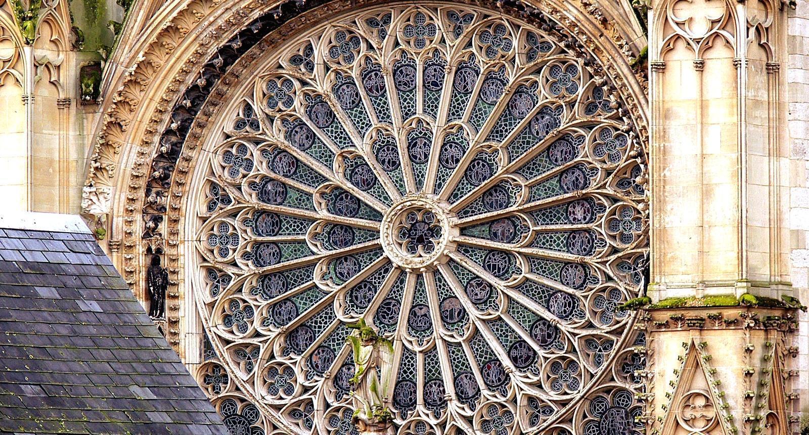 Rosace de la Cathédrale Notre-Dame de Rouen