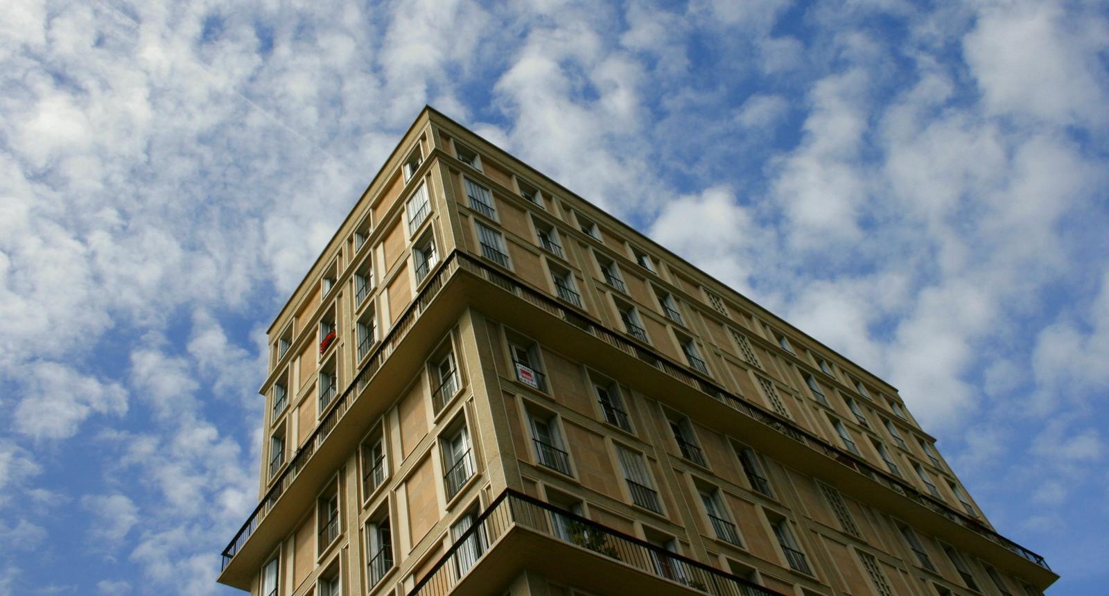 Le Havre, immeuble de logements Auguste Perret