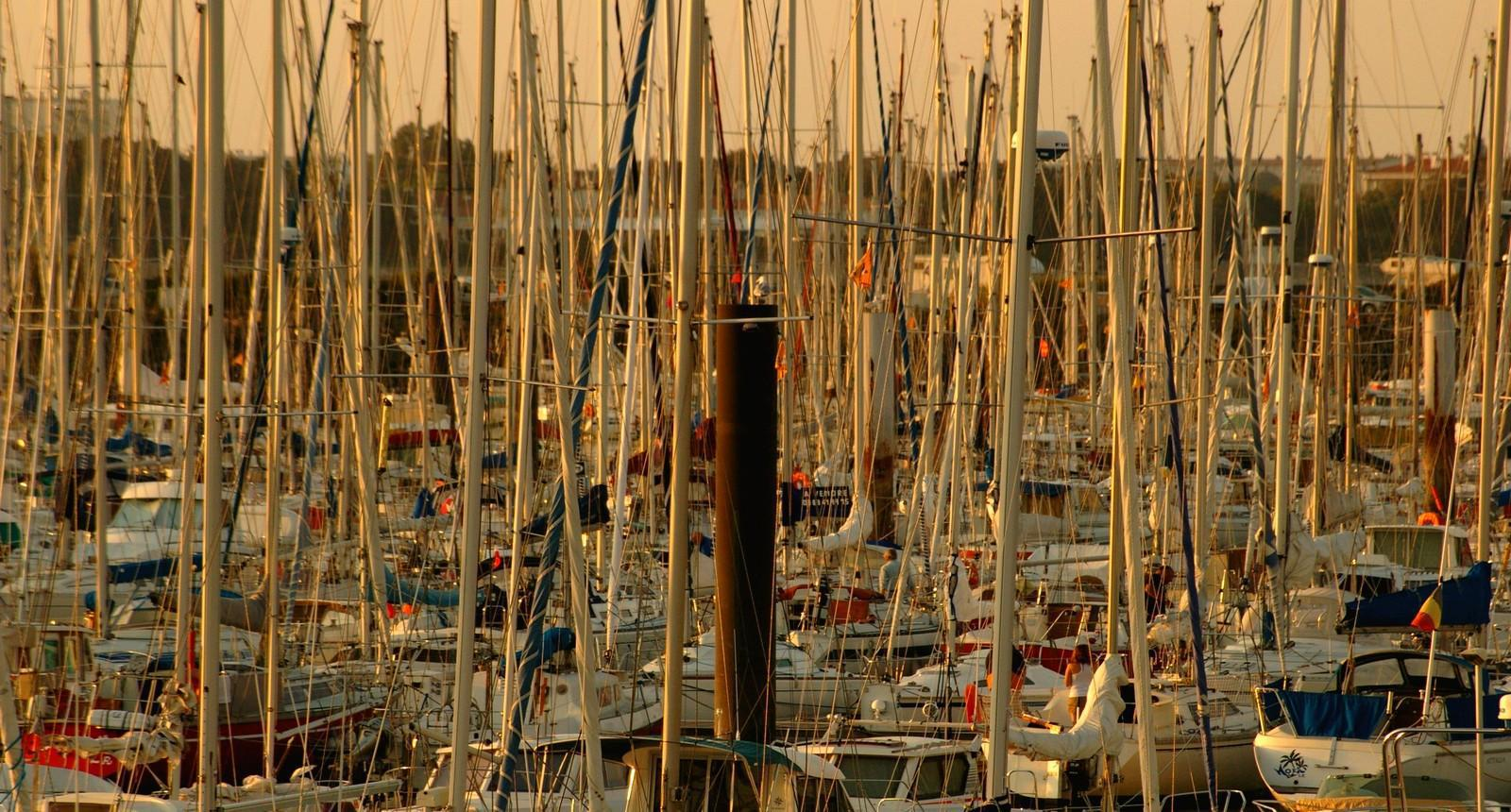Photo la rochelle plus grand port de plaisance d 39 europe - Liste des ports de plaisance en france ...