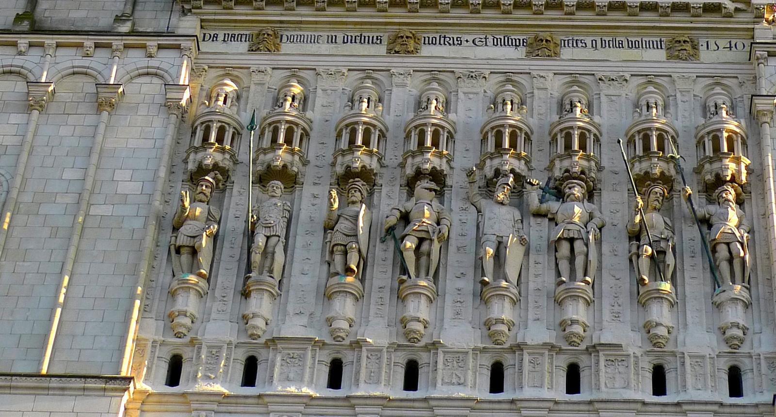 Façade de la Cathédrale Saint-Maurice, Angers