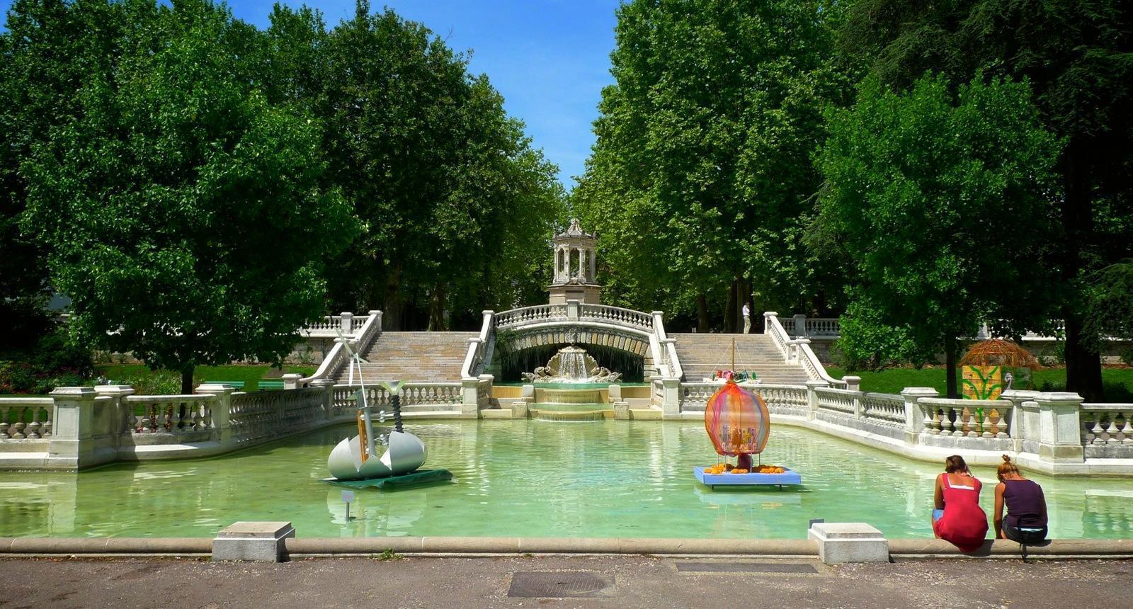 Dijon, le Jardin Darcy