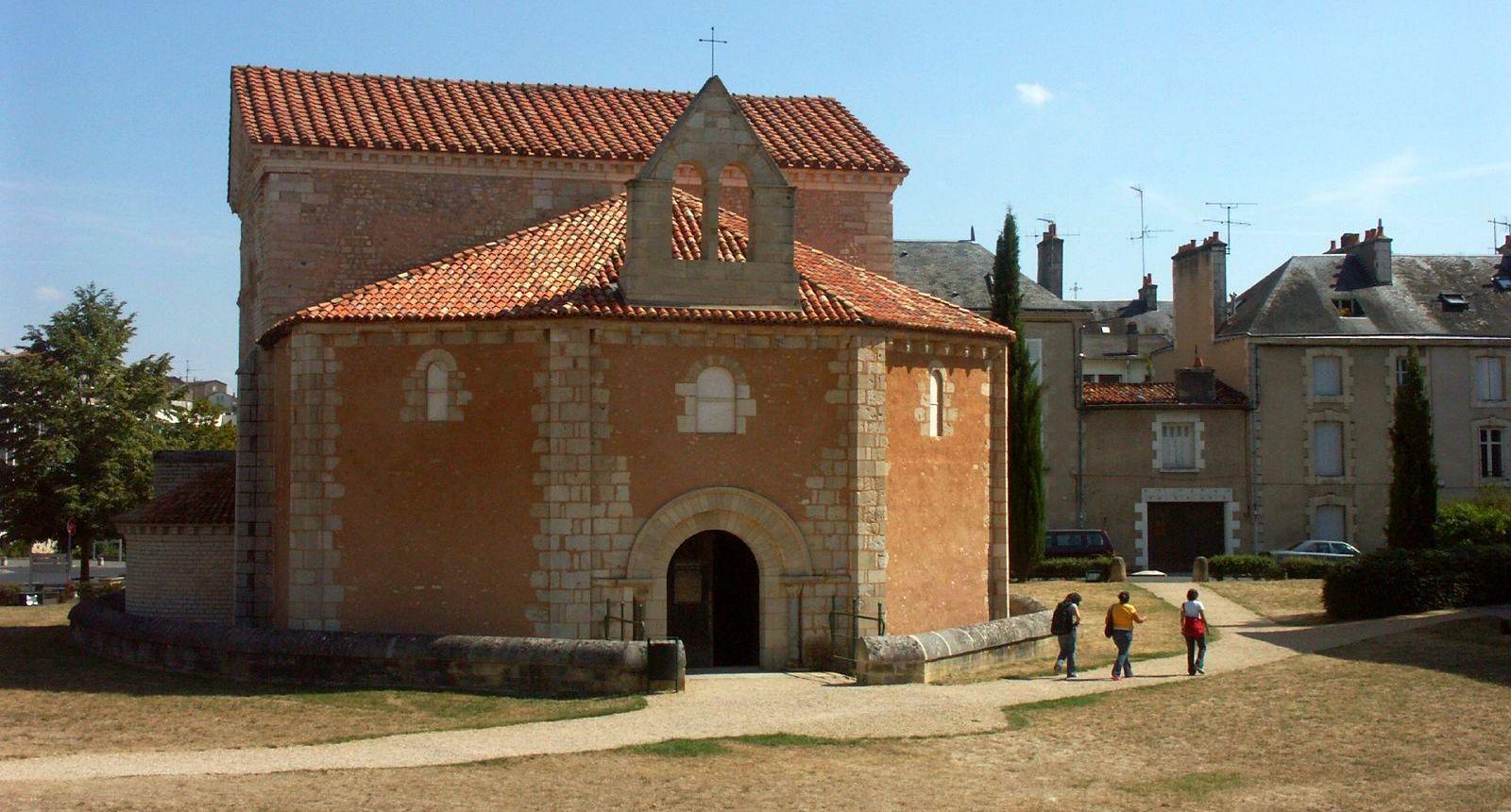 Poitiers, le Baptistère Saint-Jean