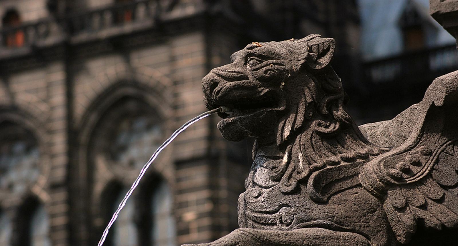 Fontaine à Clermont-Ferrand