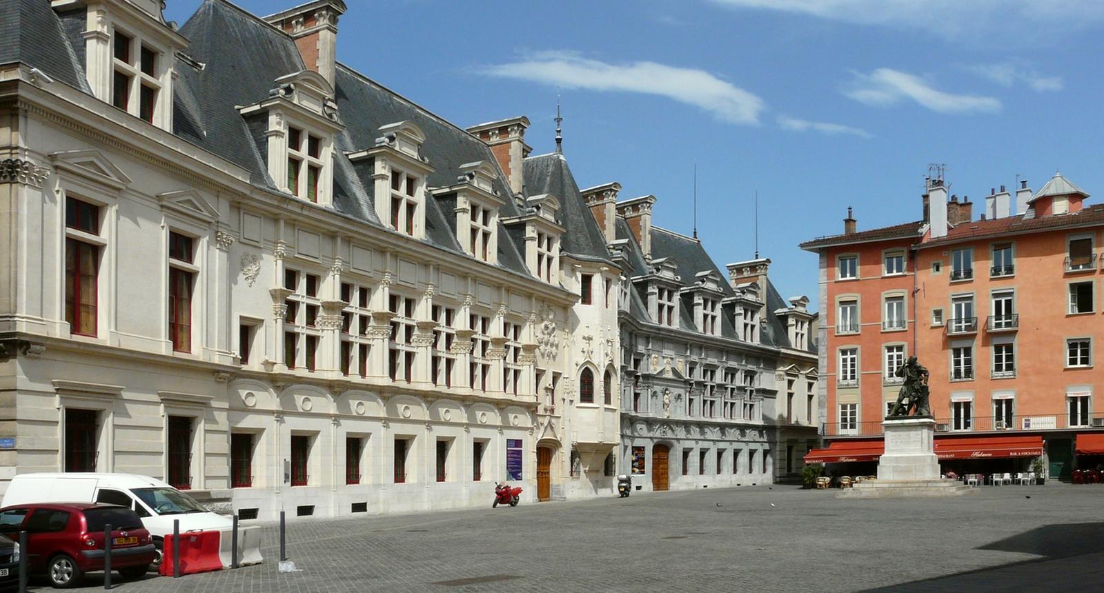 Grenoble, l'ancien Palais du Parlement du Dauphiné