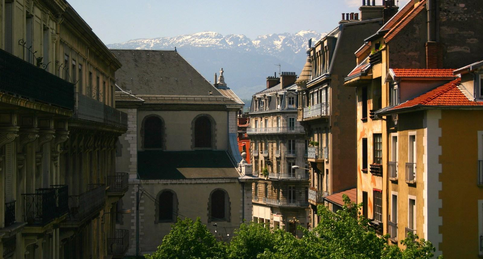 Grenoble, Quartier Saint-Laurent