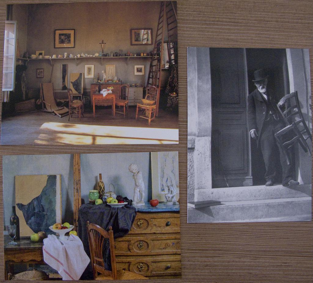 cartes postales de l'Atelier Cézanne