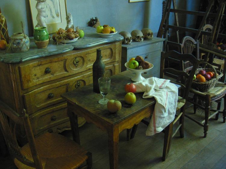 Interieur de l'Atelier Cezanne
