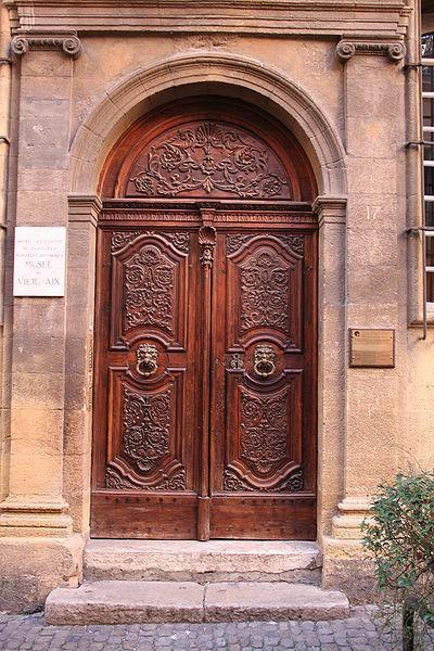 Porte du musée