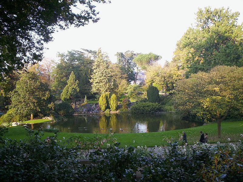 Jardin des plantes - Angers