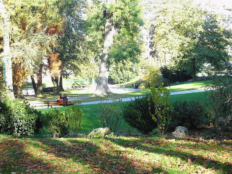 Parc Paul Mistral (jardin alpin)