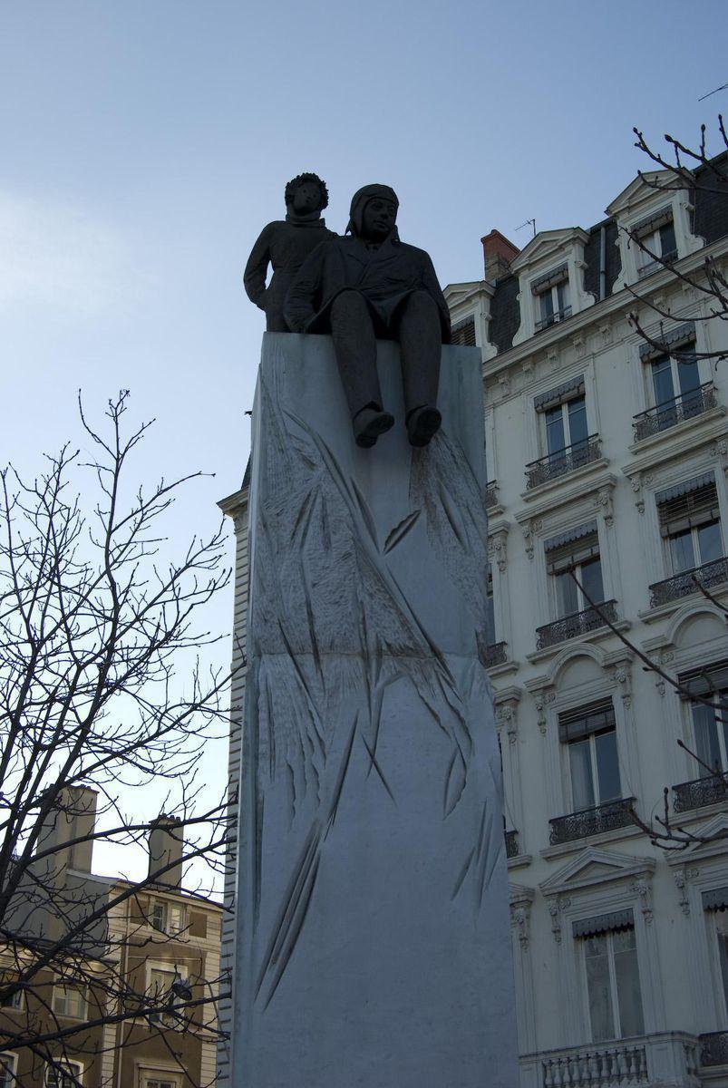 Statue d'Antoine de Saint Exupéry_Lyon
