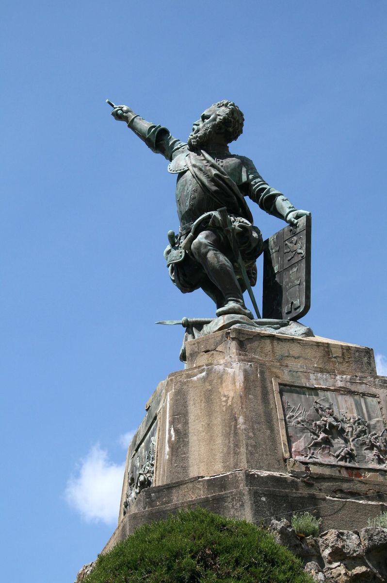Statue de Sampiero_Bastelica