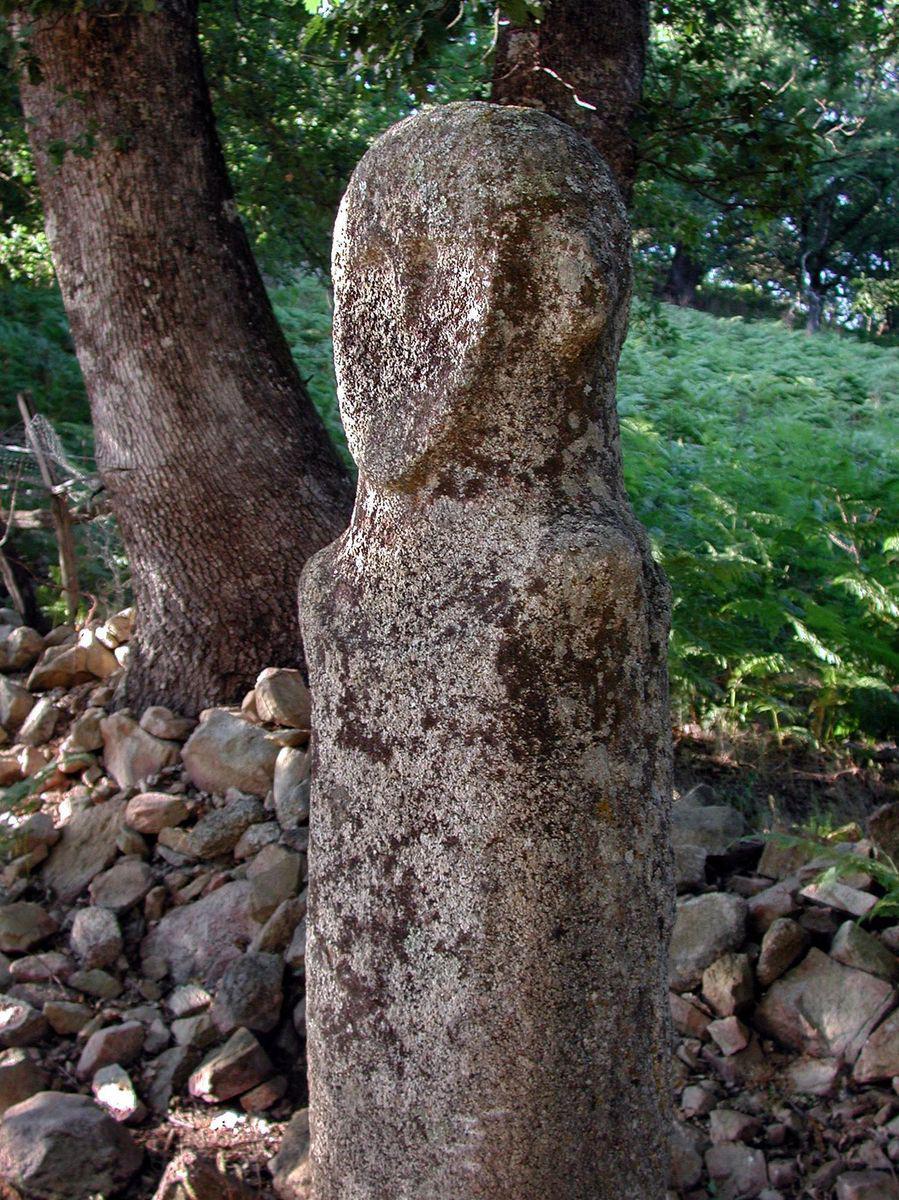 Statue menhir de Tavera_Bocognano