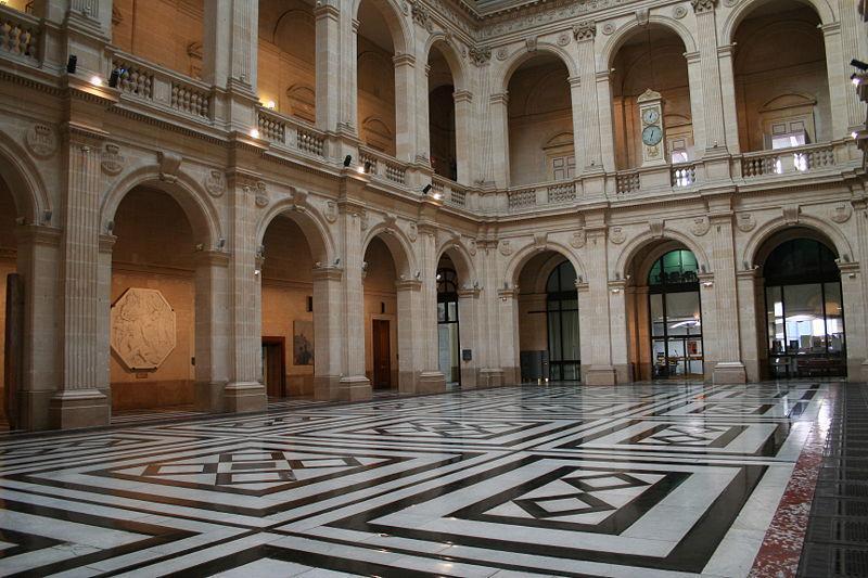 Palais de la Bourse : intérieur