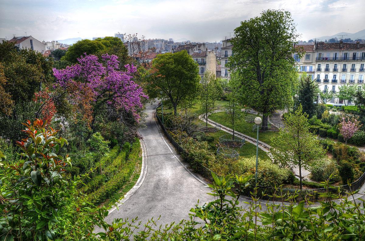 Jardin du palais Longchamp