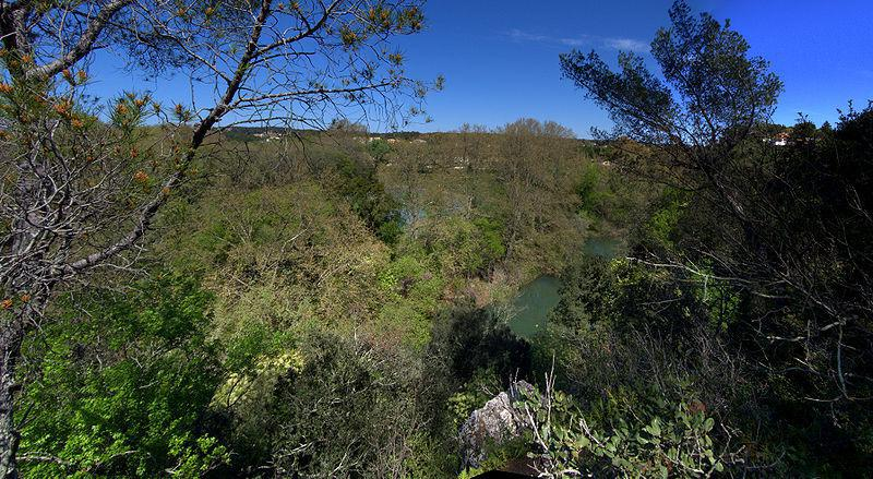 Vue sur la réserve et les environs