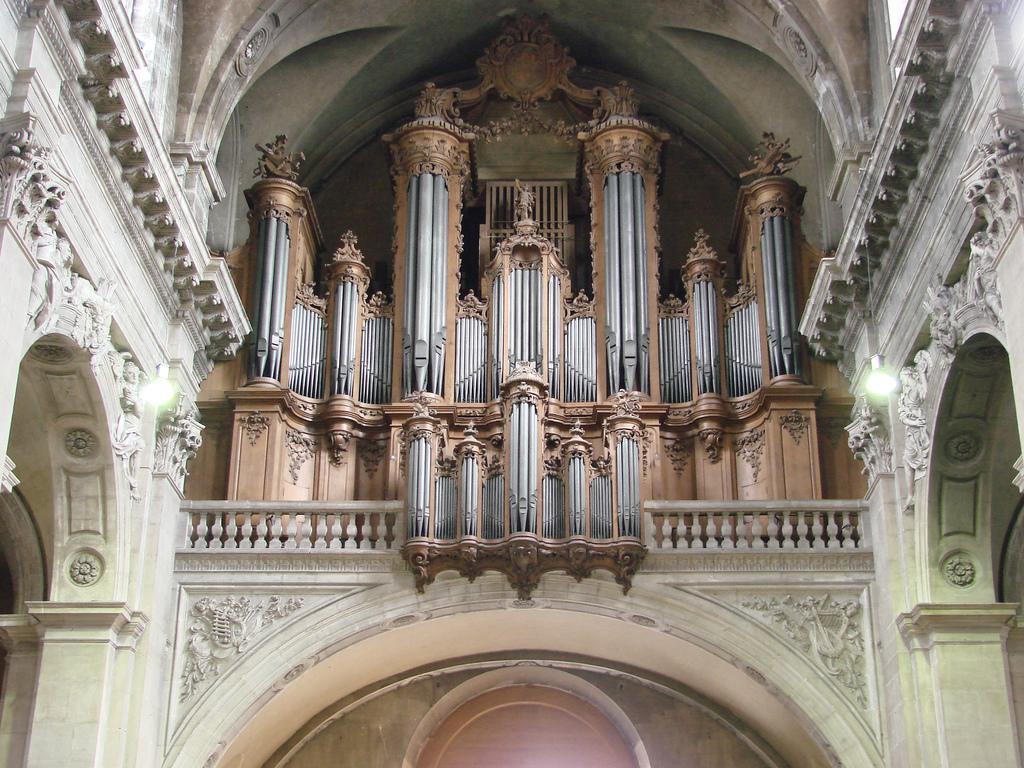 Orgue de la cathédrale de Nancy