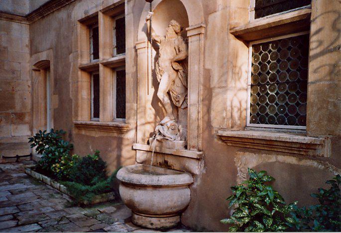 Hôtel d'Haussonville : cour intérieure