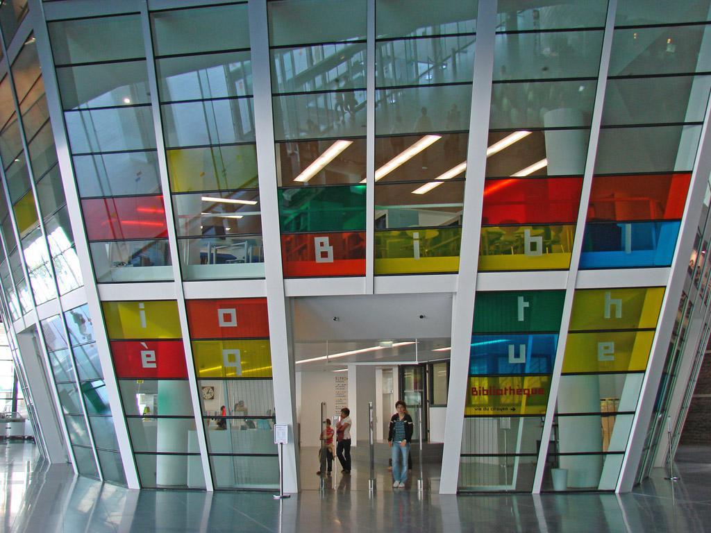 Image : Bibliothèque de Rennes Metropole
