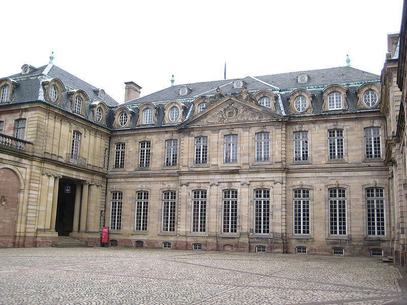 Palais Rohan : Cour intérieure