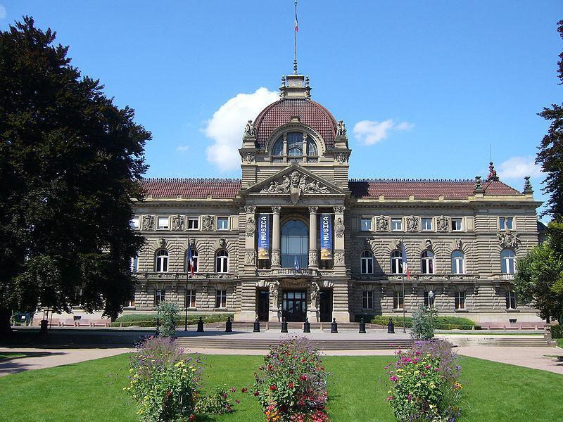 Le palais du Rhin à Strasbourg