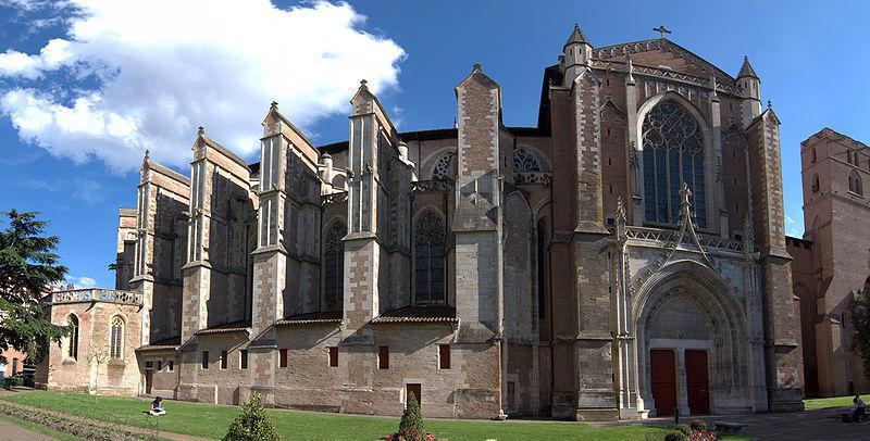 Cathédrale Saint-Étienne, côté nord