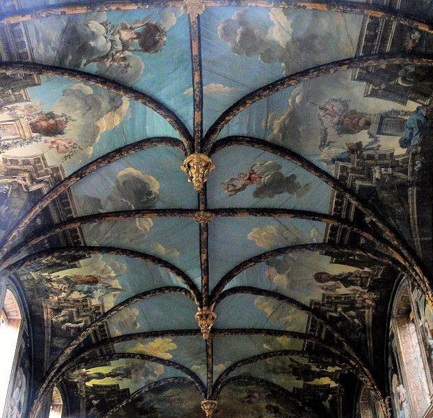 Chapelle des Carmélites - Lambris peint